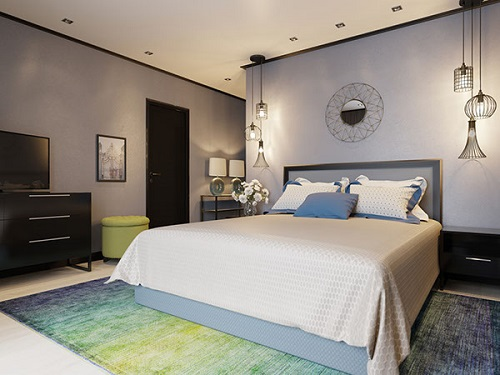 Luxurious concept with pearl and ocean colors