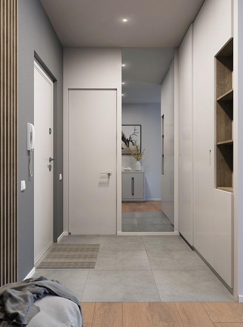 Minimalist idea combines creative furniture