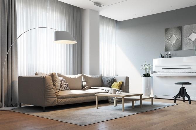 Minimalist idea for living room design