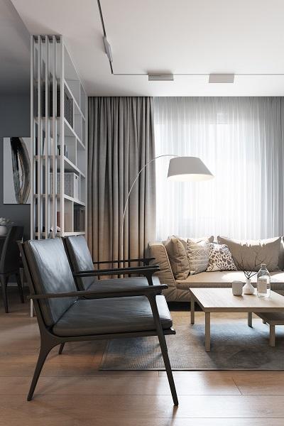 Minimalist idea for living room