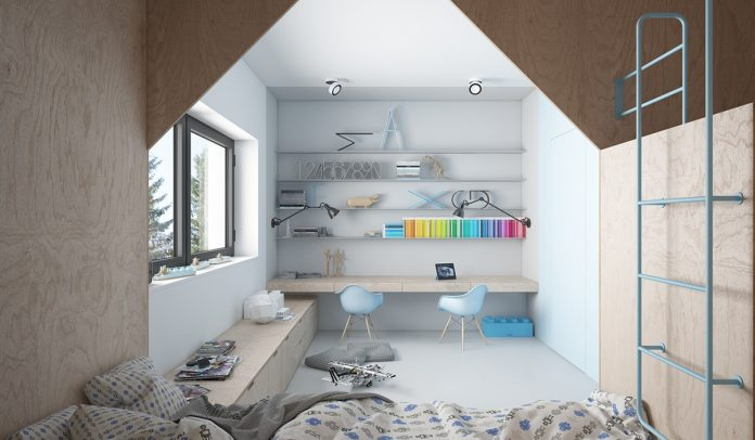 Unique kids bedroom design