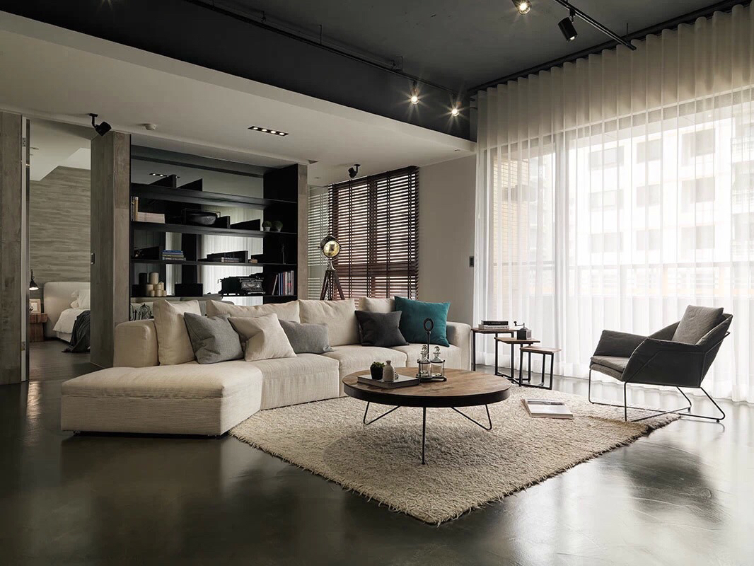 Asian living room interior design