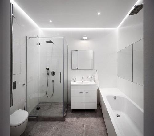 Modern bathroom minimalist design
