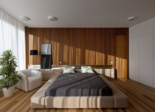 Modern bedroom minimalist design