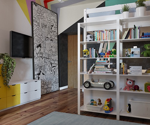 Modern design of bunk bed looks awesome