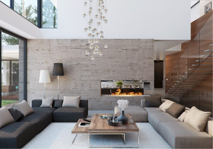 Modern house interior design ideas with elegant indoor for Interior designs by ria