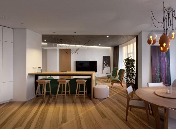 Modern kitchen minimalist design