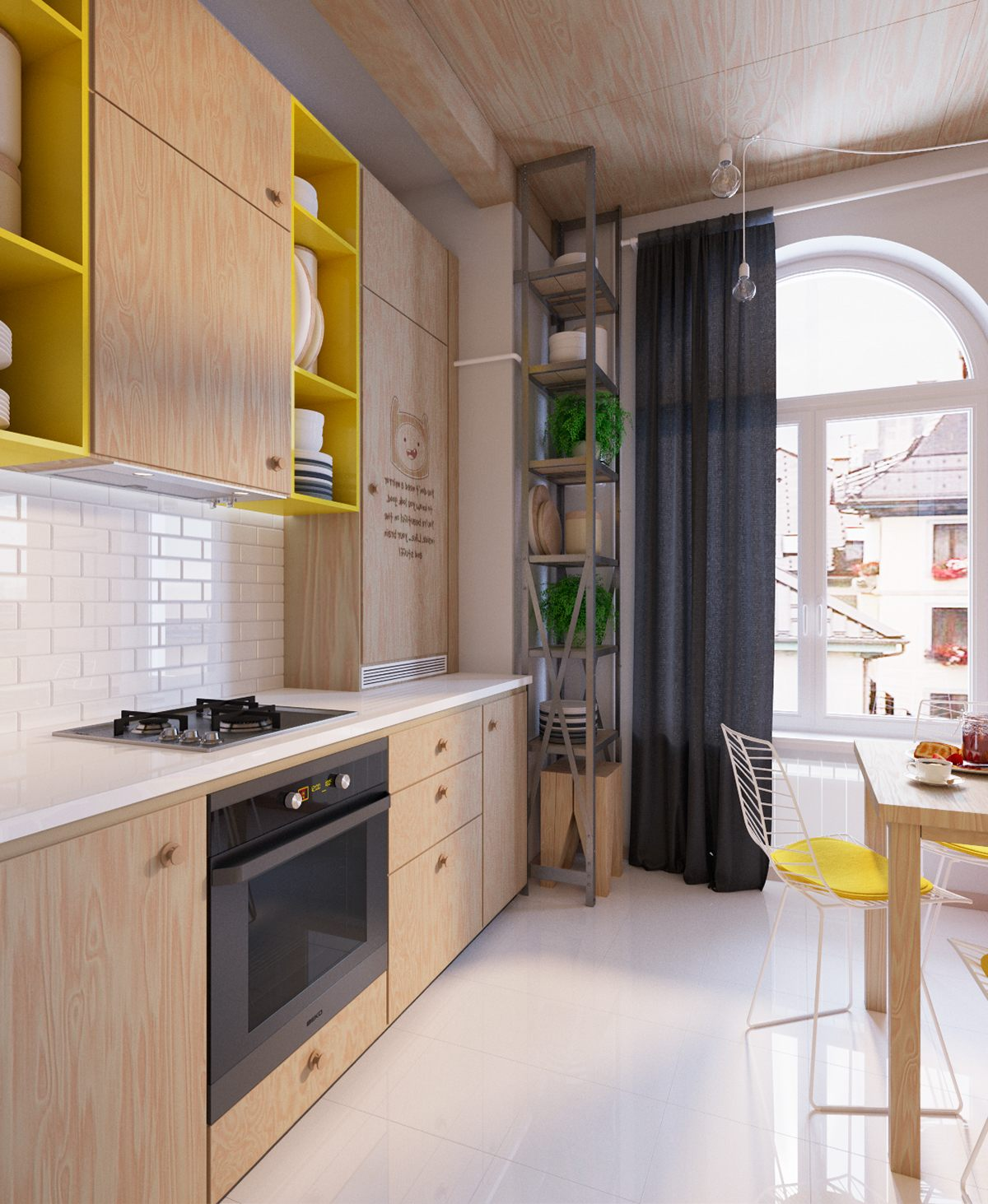 Colorful kitchen designs ideas