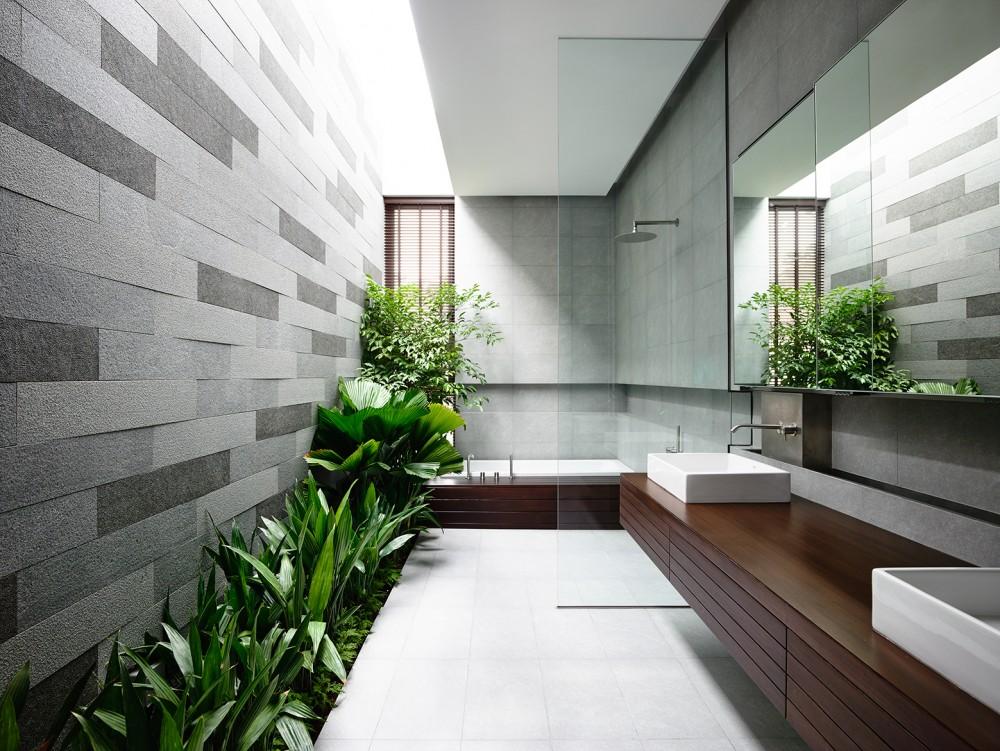 Outdoor bath concept