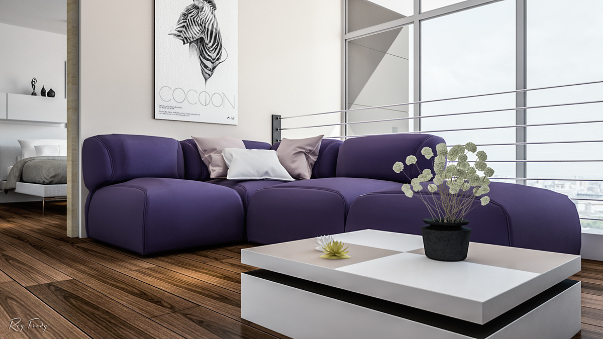 Feature Wall Living Room Ideas Part   27: Purple Feature Wall Living Room  Ideas Best Part 62