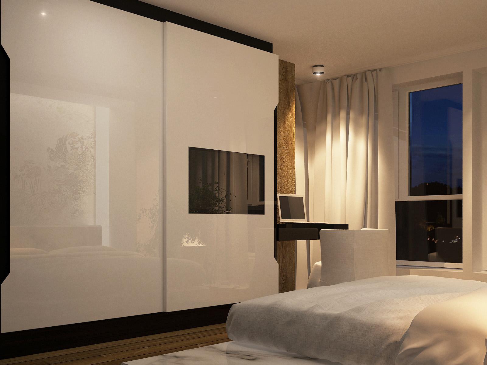 Minimalist bedroom theme