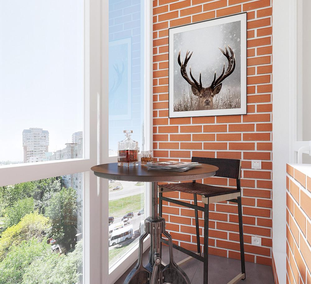 Minimalist balcony design ideas