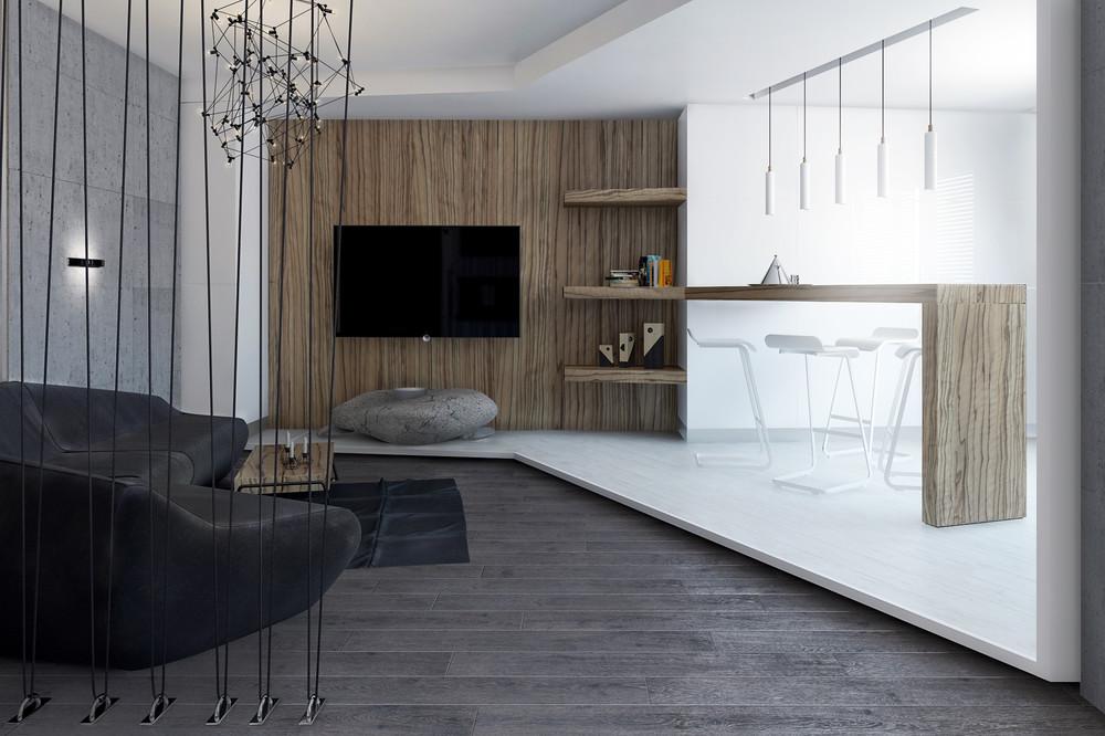Creative room divider