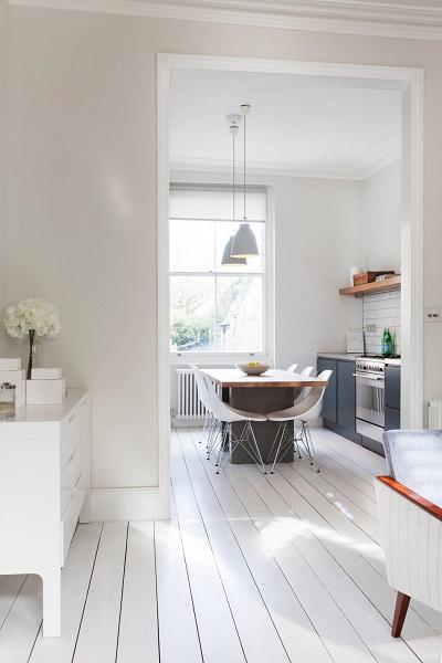 Scandinavian design for a modest kitchen