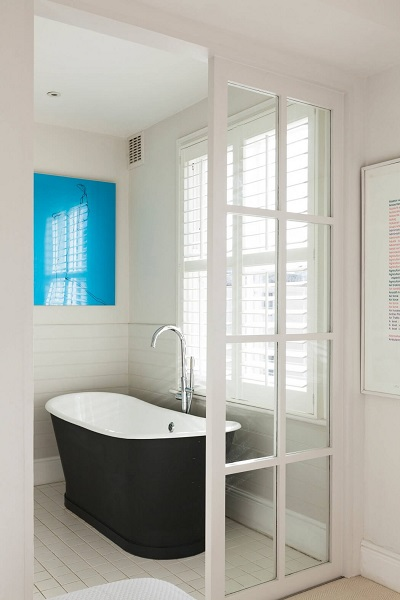 Scandinavian design for bathroom