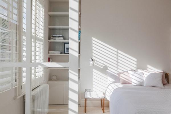 Scandinavian design for bedroom