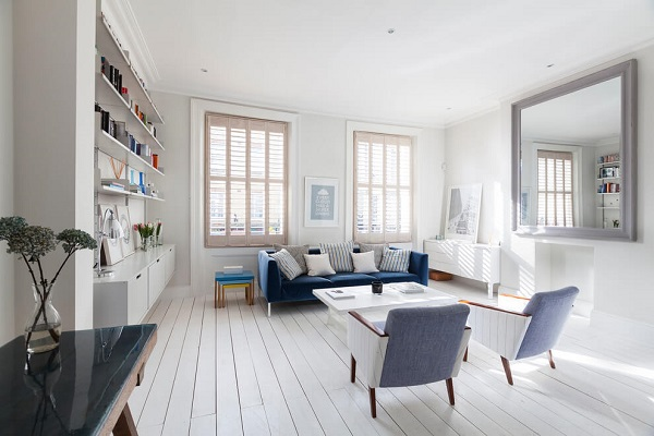 Scandinavian design with lively atmosphere