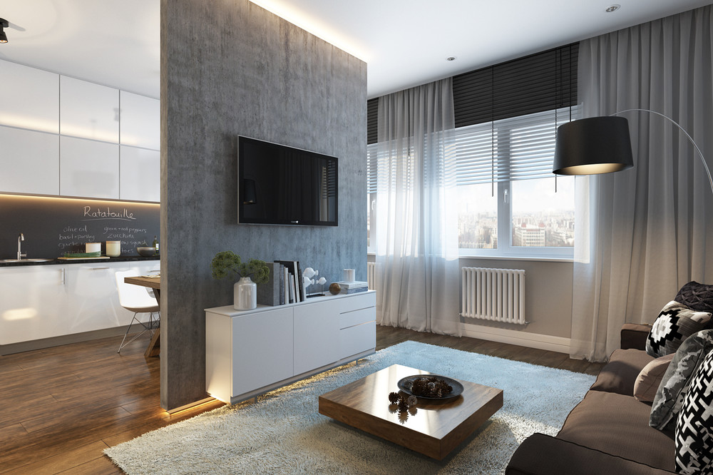 Super small apartment design