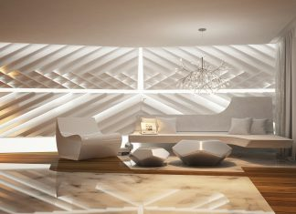 Unique living room concept