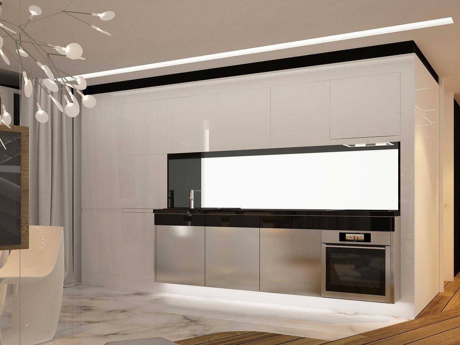 Modern simple kitchen