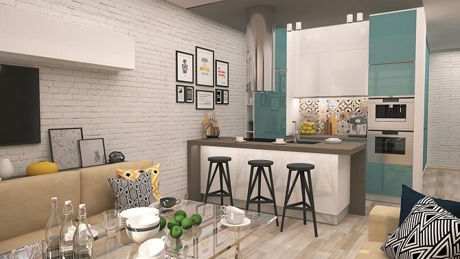 Smart and modern interior