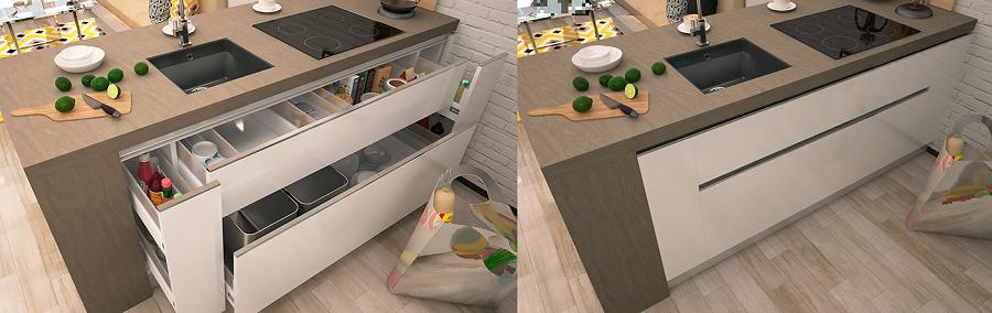 Smart interior for kitchen