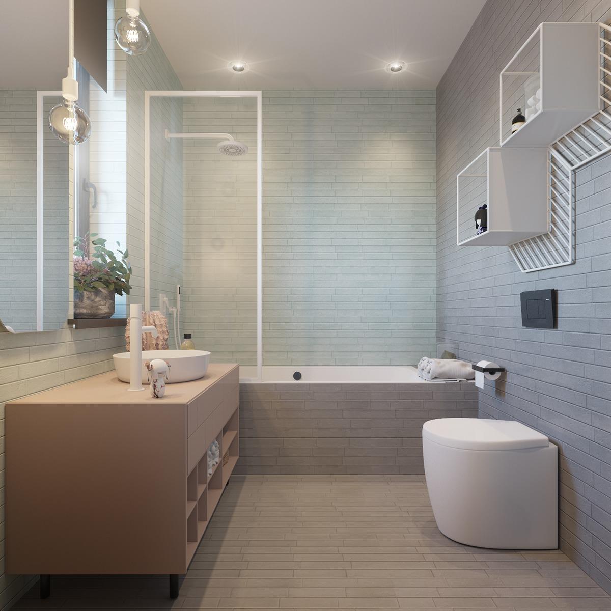 soft baby bathroom ideas
