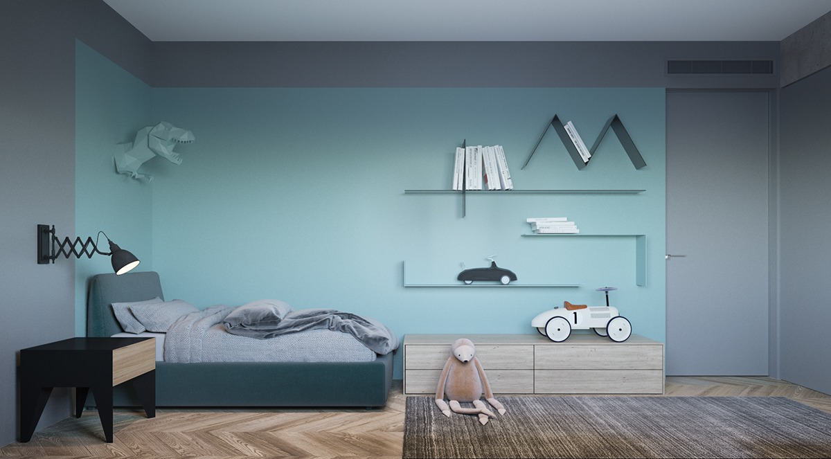 stylish room design for kids