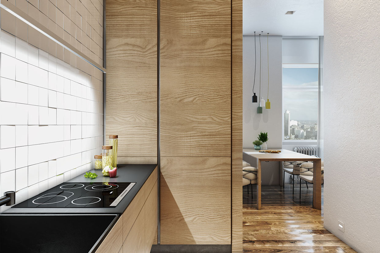 minimalist and modern kitchen style