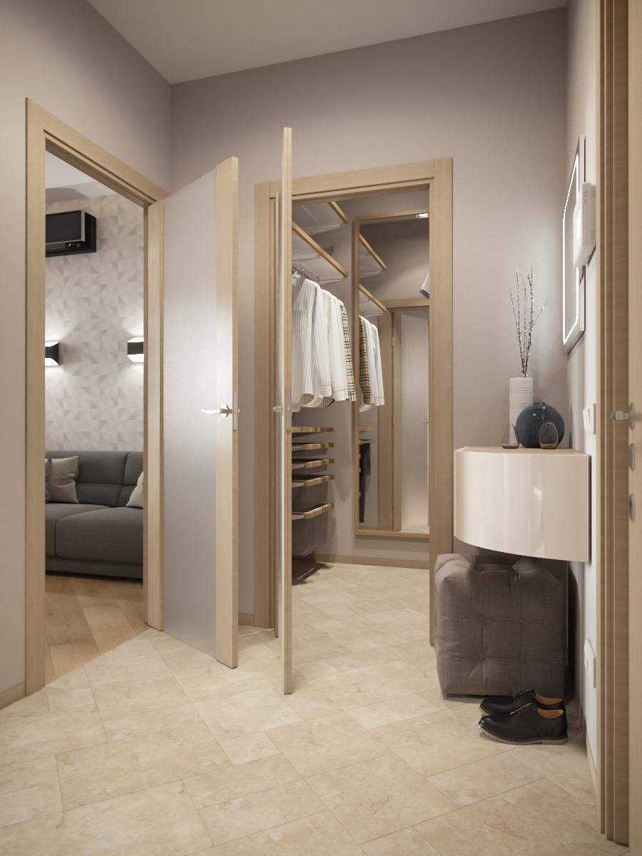 Simple hallway design