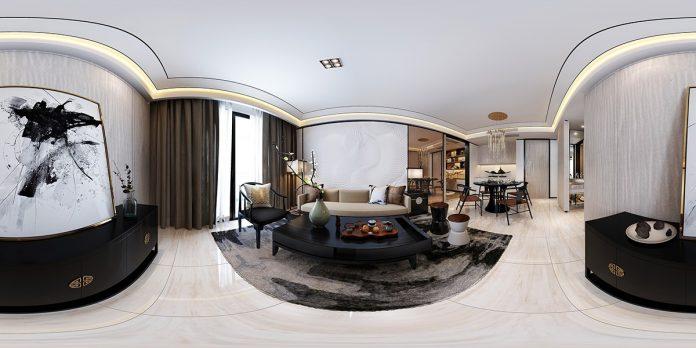Classic apartment interior design