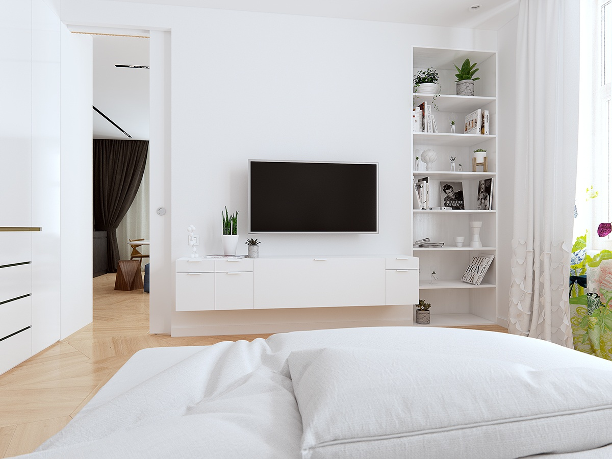 White bedroom designs ideas