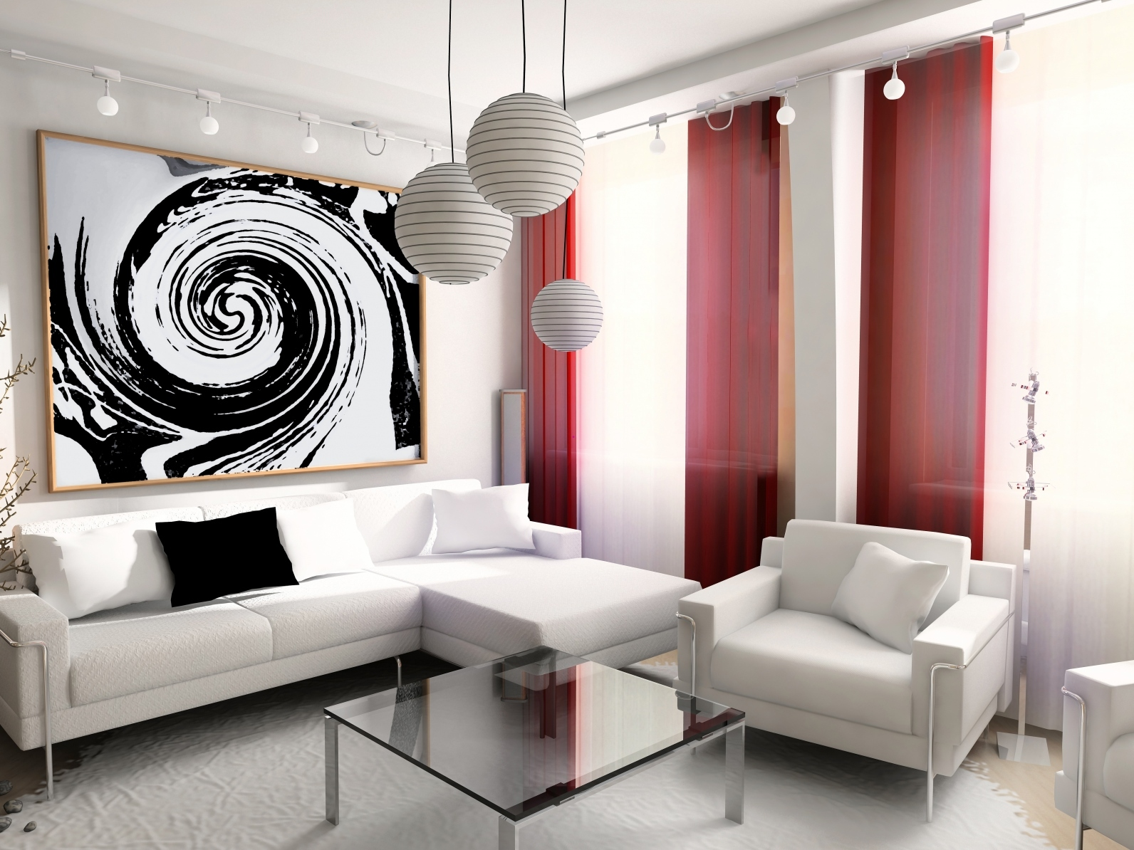 minimalist living room decor