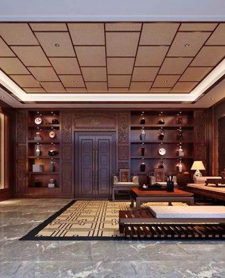 Classic living room interior design