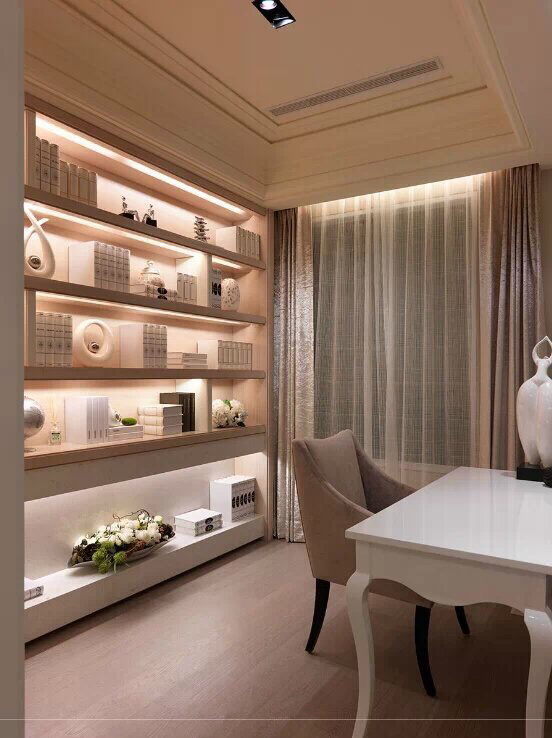 Pink room interior design