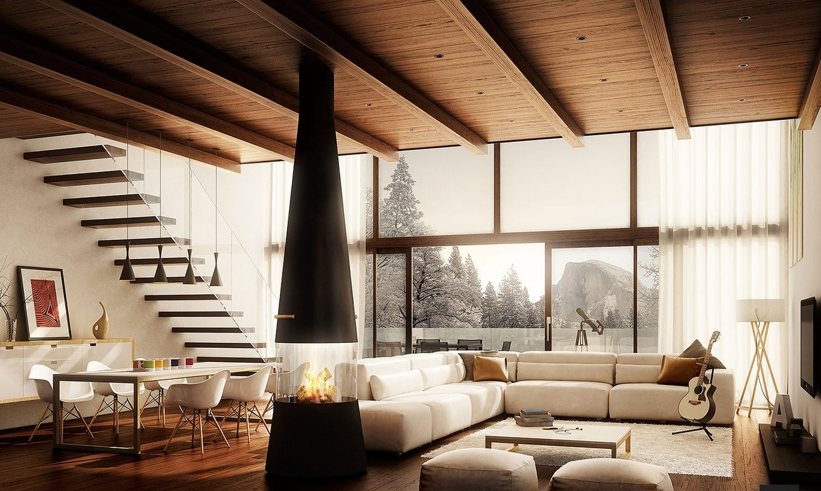 creative design for living room