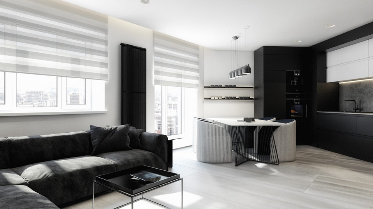 Creating A Minimalist Black And White Apartment Decorating Ideas Roohome