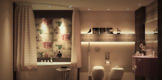 luxury bathroom design looks charming