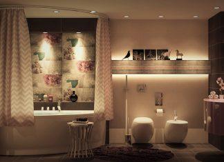 luxury bathroom design looks charming