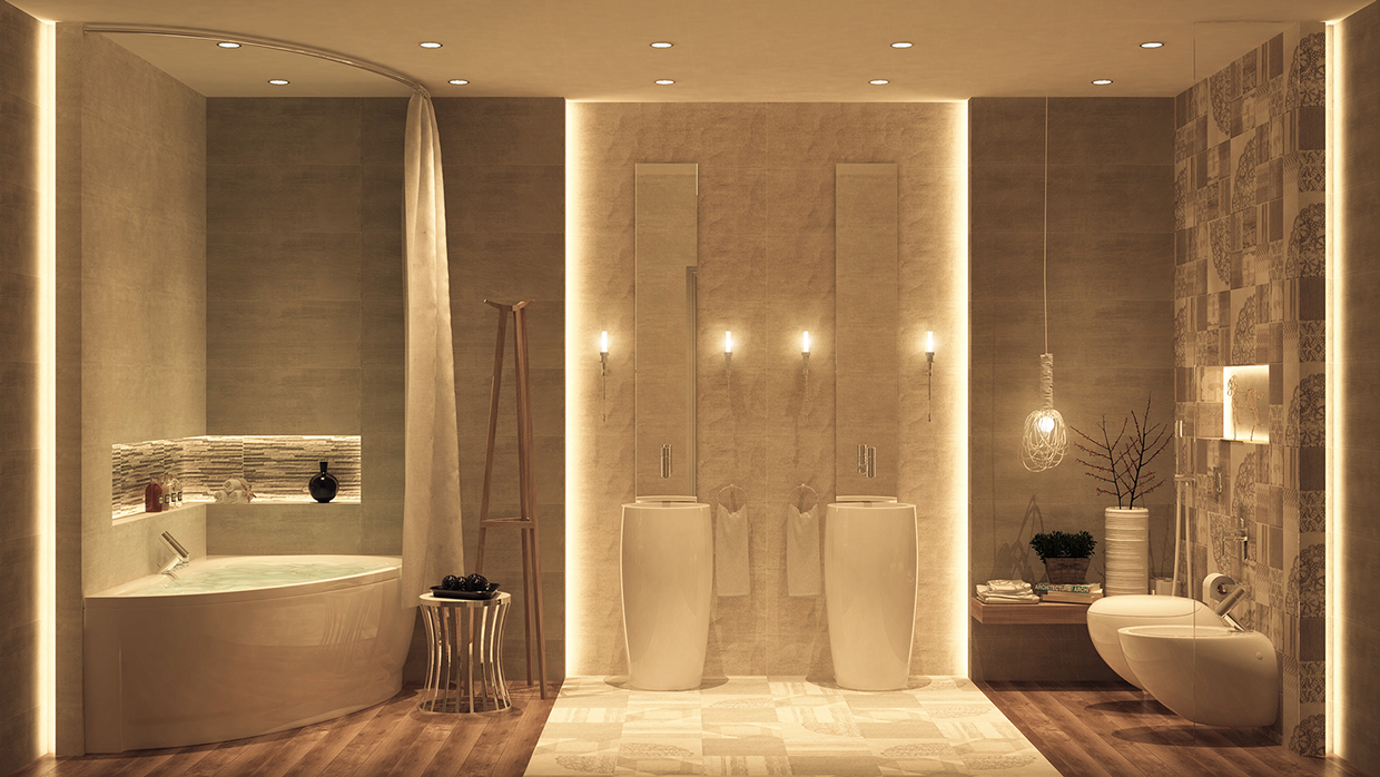 gorgeous bathroom decor
