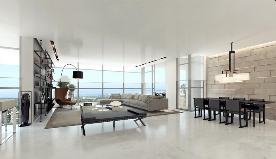 white living room designs