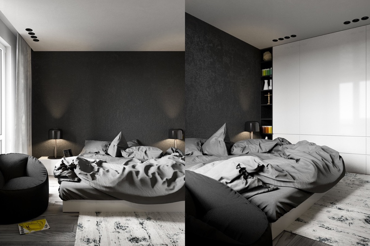 bedroom decorating ideas looks masculine