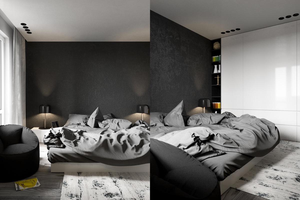 bedroom decorating ideas looks masculine