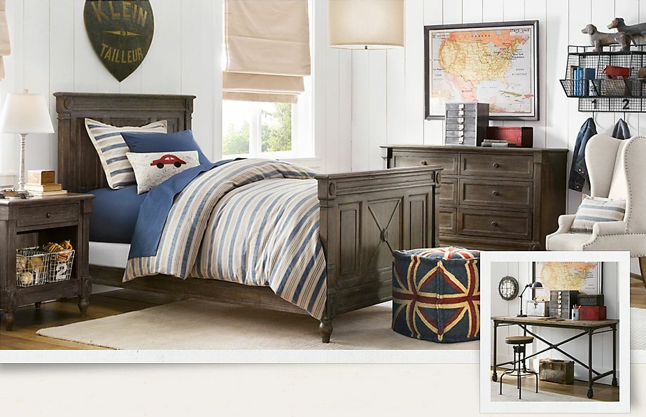 Tips how to decorate boys bedroom ideas looks vintage with for Help decorating bedroom
