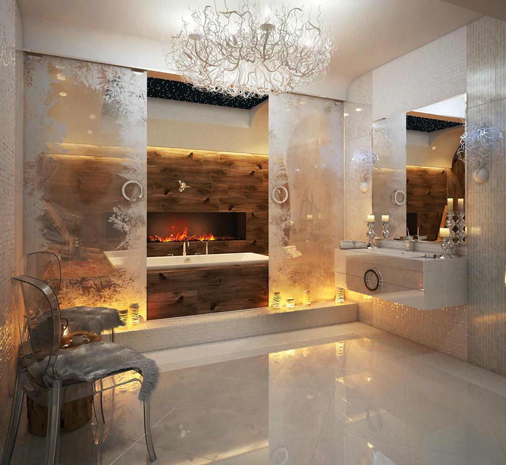 bathroom design ideas looks glamour