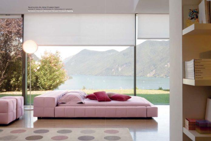 simple and unique bedroom design