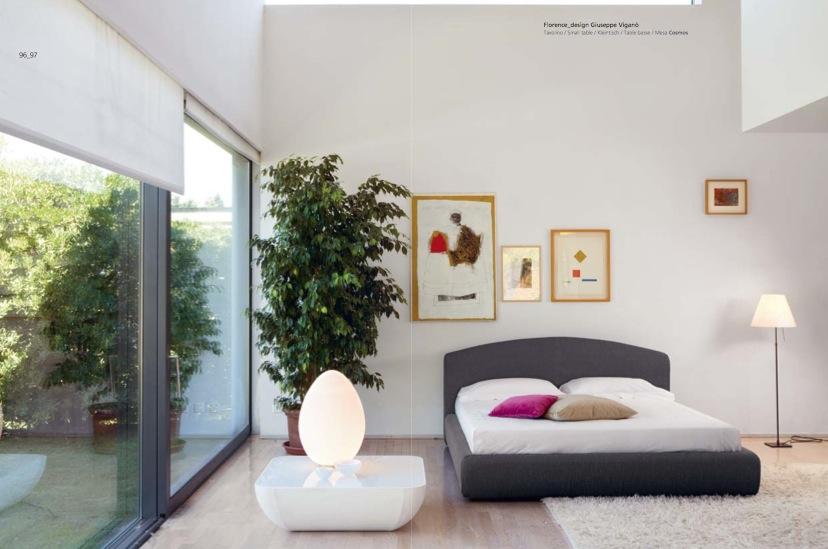natural decoration for unique bedroom