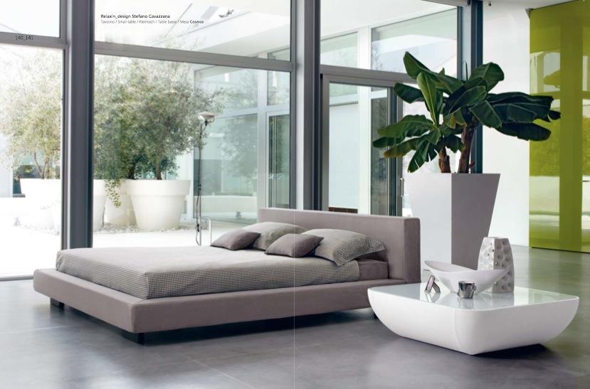 natural decoration for bedroom design