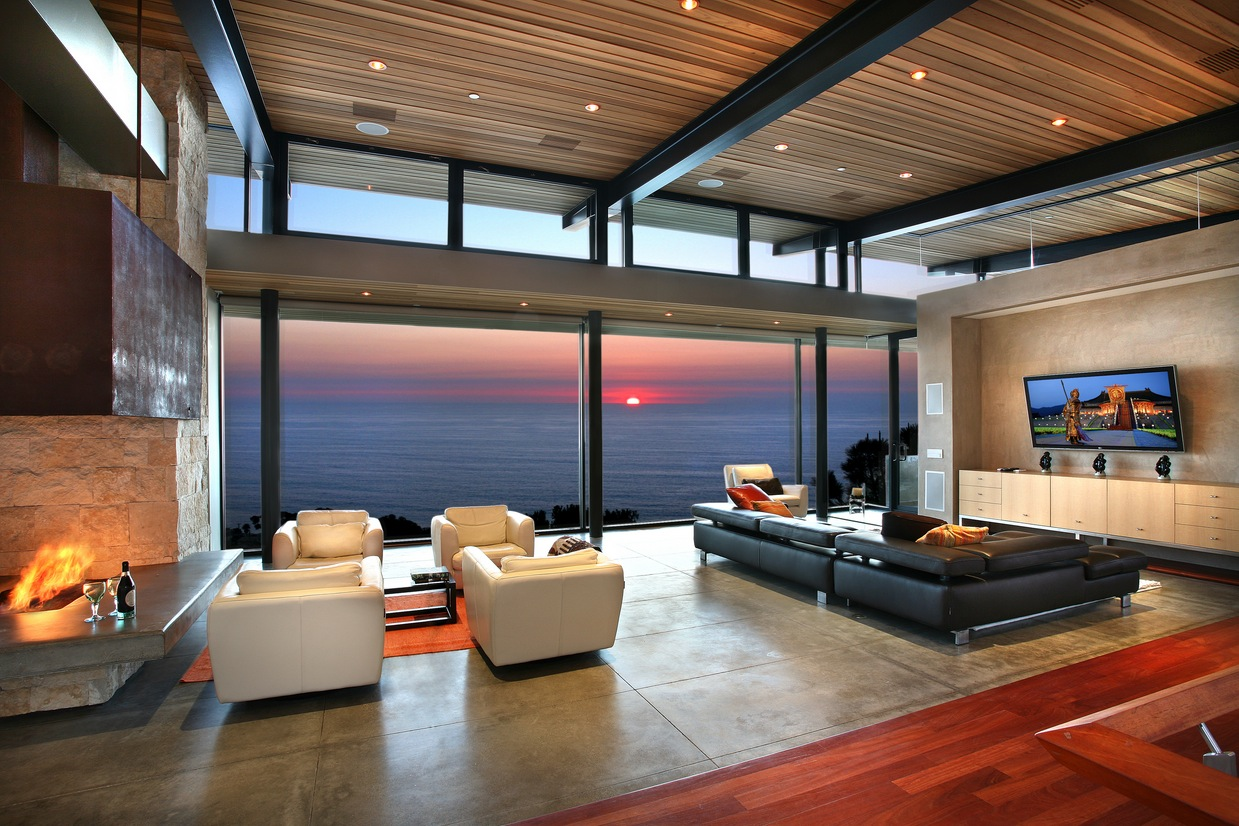 Modern Decor For Living Room Living Room Designs With Great View And Modern Decor Looks So
