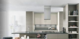 modern kitchen design with wooden